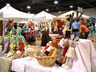 Maker Faire NC: Crocheted Haven