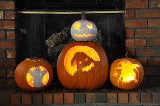 Jack, Oogie, and other pumpkins