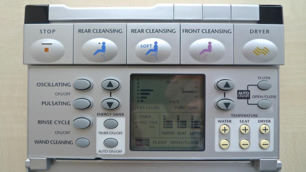 Toilet Remote Control UI!