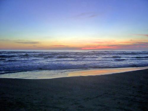 Atardeciendo en Playa Azul Michoacán, México by .:marce..campos:.