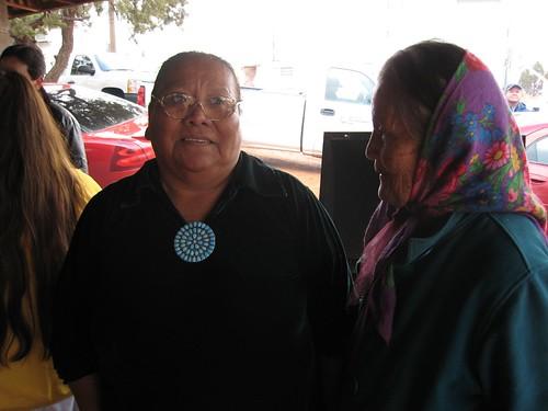 REZ, Navajo, women, elder, turquoise, scarf… IMG_1185