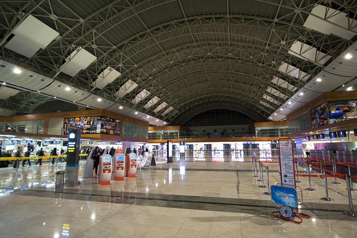 Sabiha Gokcen Airport Terminal
