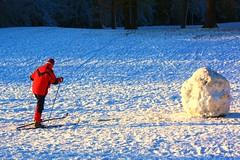 The Ipswich skier, 19 December 2009