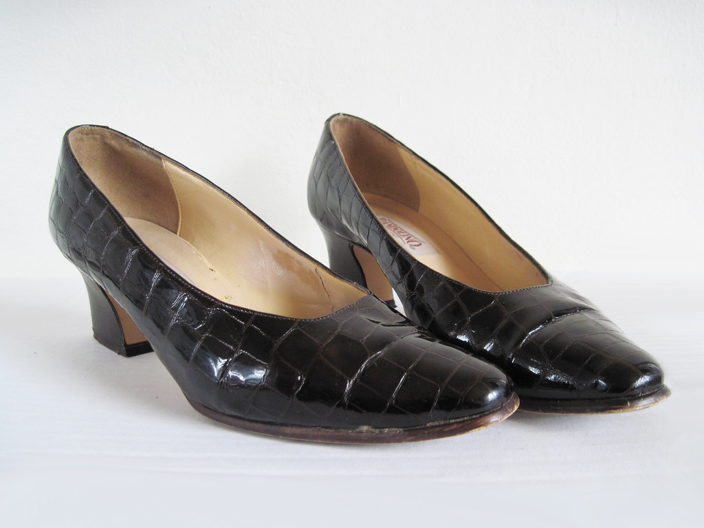 vintage 1960s MUDSLIDE Heels