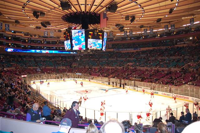 Rangers Vs Carolina Hurricanes 1 27 10 Madison Square