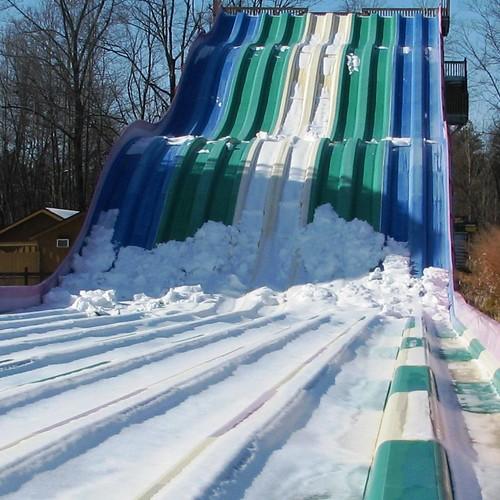 Ice races on Jungle Racer?