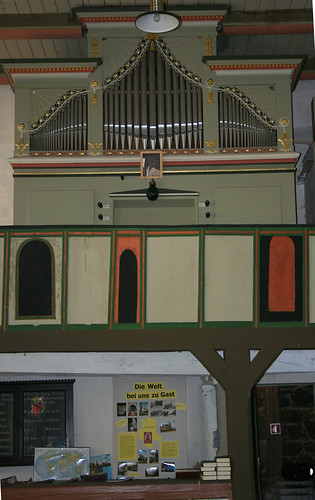 Wiepke,Kirche,Orgel