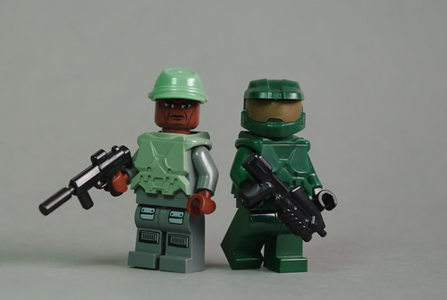 Sgt Major Johnson & the Master Chief