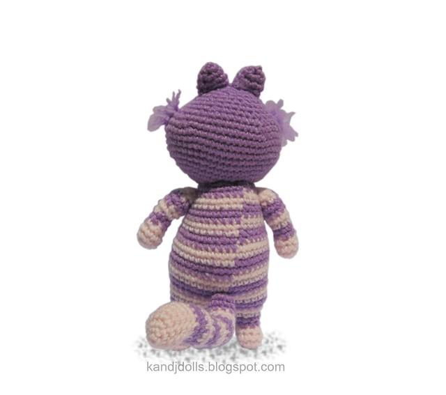 Cheshire cat Amigurumi crochet pattern from Alice in ...