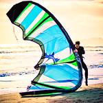 The ballet of kitesurfing