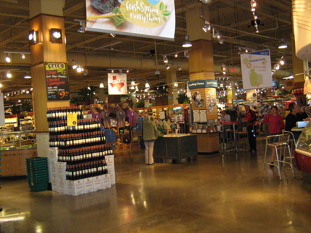 Wholefoods, a super market like no other