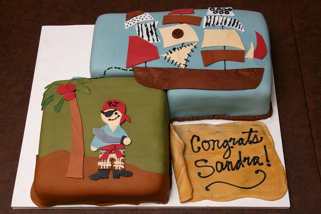 pirate baby shower cake flickr photo sharing