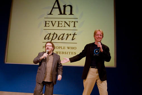 Jeffrey Zeldman and Eric Meyer - An Event Apart: Seattle 2010