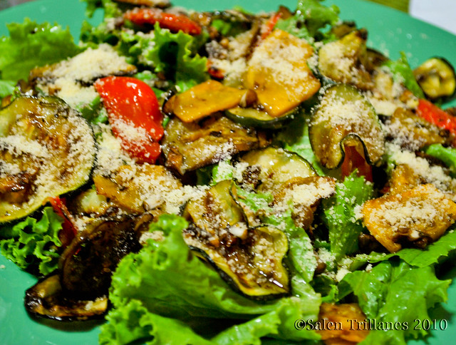 Grilled Vegetable Salad | Flickr - Photo Sharing!