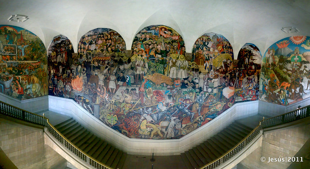 Photo for Diego rivera la conquista mural