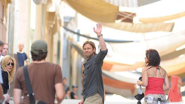 World War Z - Brad Pitt in Malta