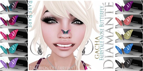 ::Diamante:: Fairytale Nose Butterfly Gachas by Alliana Petunia