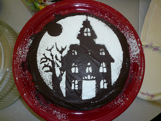 ... Devil's Food w/chocolate frosting; deco… | Flickr - Photo Sharing