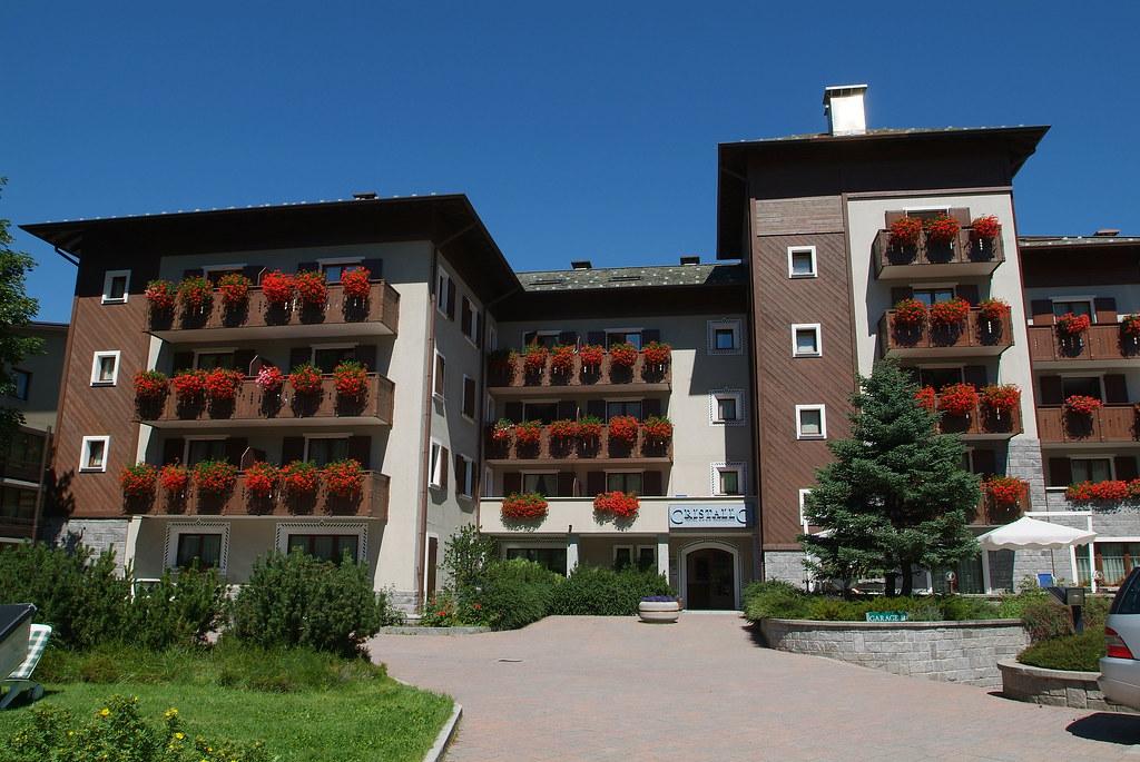 Hotel Residence Cristallo Ingresso