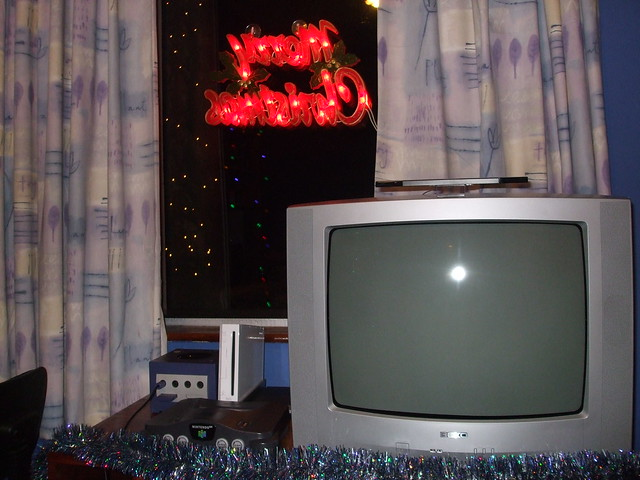 Christmas Decorations '08 - TV