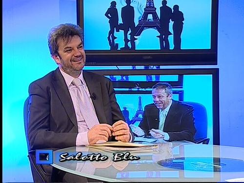 Intervista a Salotto Blu, con Mario Russomanno  www ...