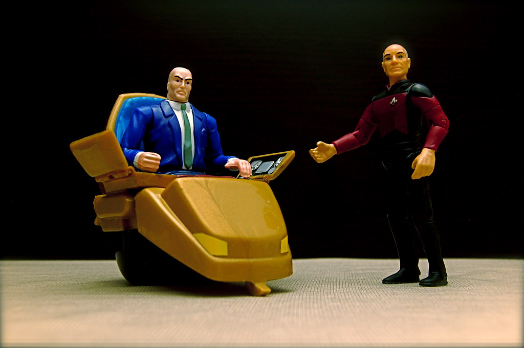 Professor X vs. Captain Picard (41/365)