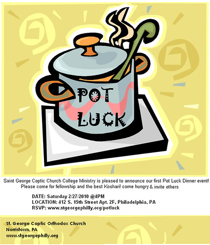 potluck flyer Flickr Photo Sharing