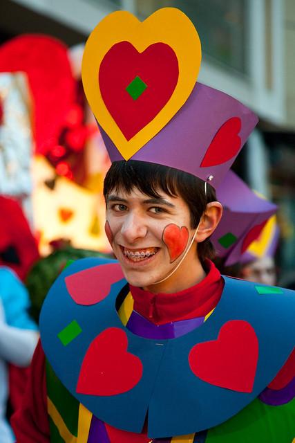 Carnaval de corazones