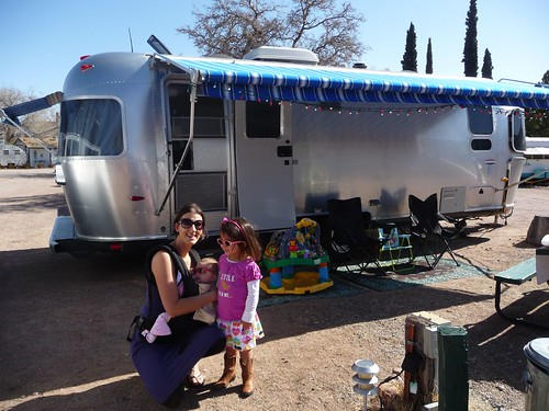 our airstream at the shady dell.