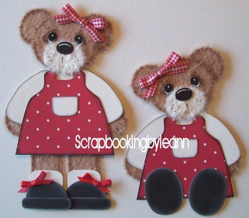Beary Sweet Printable Tear Bear Eyes - The Beary Scrap