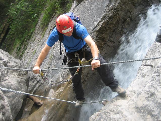 Klettersteig Pirknerklamm, Oberdrautal