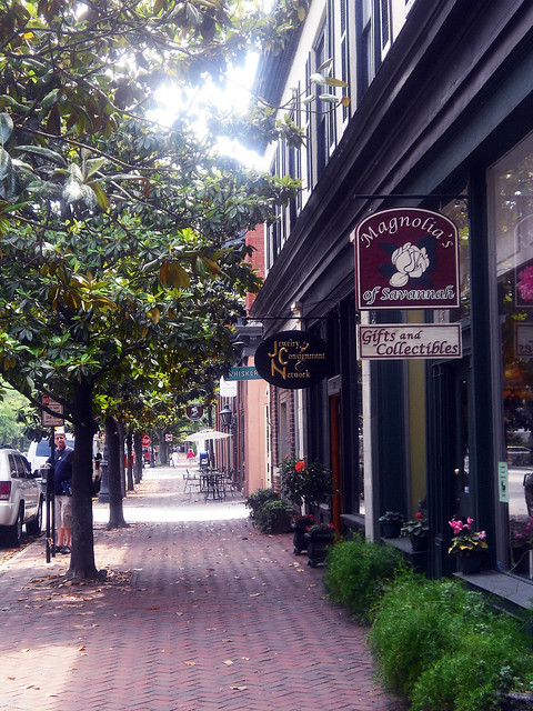 There are two malls on the Southside of Savannah outside of the Historic District, past Midtown, that locals frequent for all kinds of clothes and gifts – the Oglethorpe Mall and the Savannah Mall. Both are located on Abercorn Street about 15 to 20 minutes outside of Downtown Savannah.