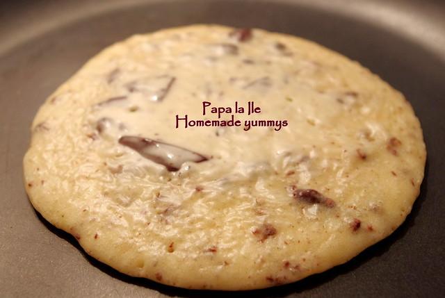 Pancakes cu ciocolata si fructe (4)