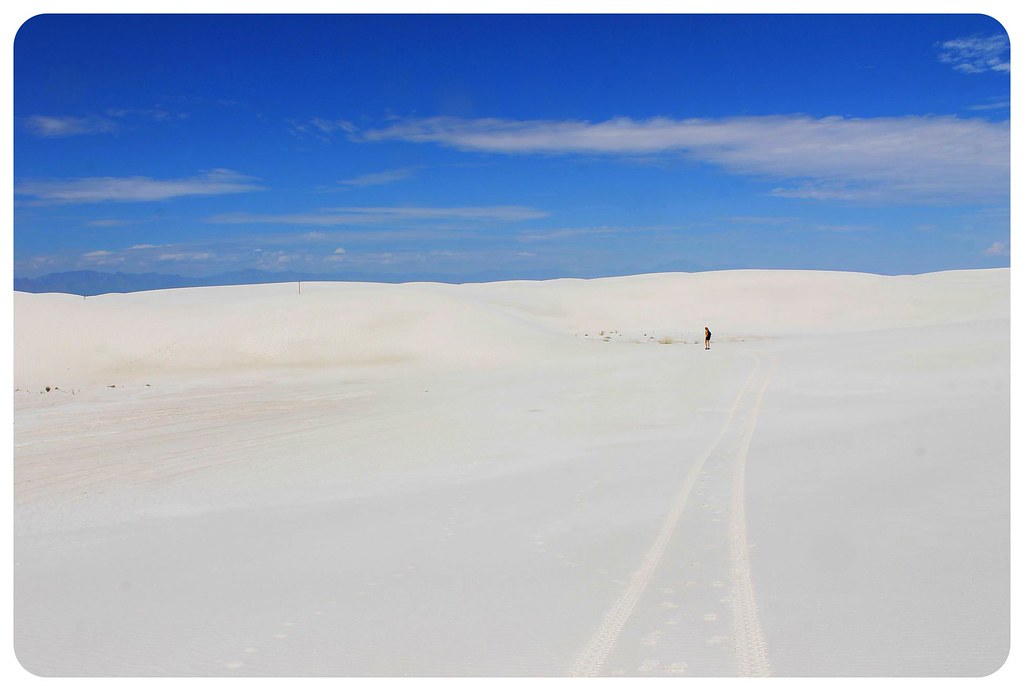 White Sands New Mexico dani hiking