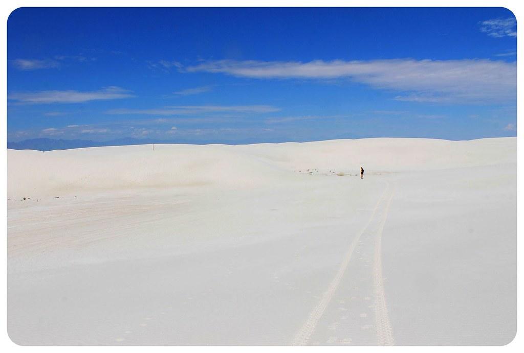 White Sands New Mexico dani hiking
