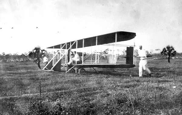Wright aircraft flown by Howard Gill: Miami, Florida