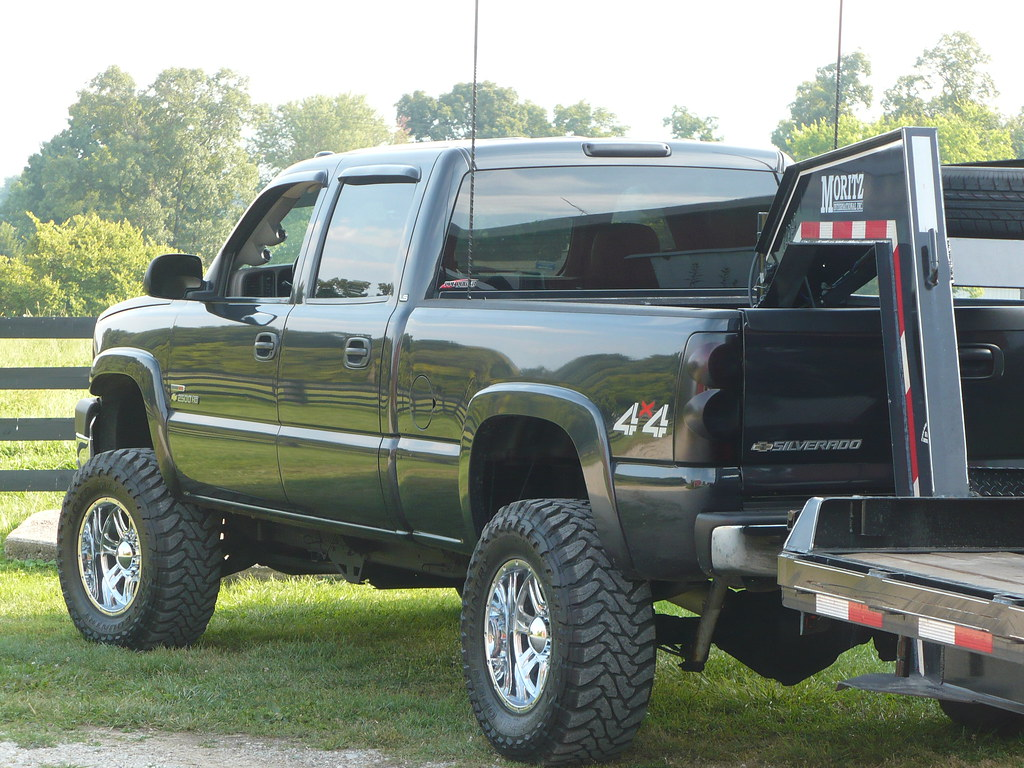 Chevy Duramax With Stacks Lifted | www.imgkid.com - The ...