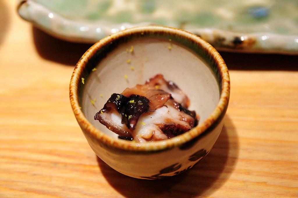 筌壽司-滷章魚