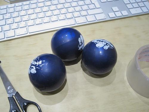 Мячи для жоглирования.