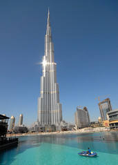 The Giant: Burj Dubai / Burj Chalifa (828 m !)