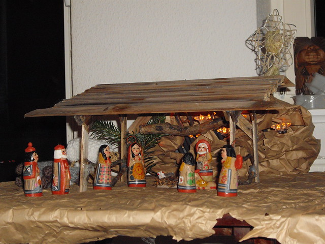 Homemade Nativity Scene Flickr Photo Sharing