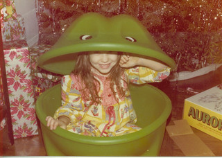 Patty in frog 002
