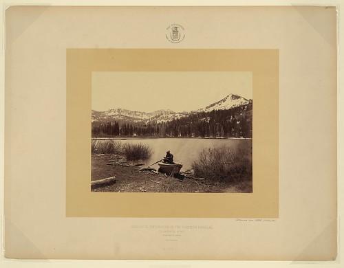 Cottonwood Lake, Utah (Wahsatch) (LOC)