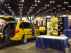 Yellow Cab Houston WheelChair accessible taxi