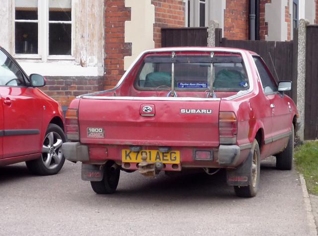 Pickup For Sale  Subaru Pickup For Sale Uk