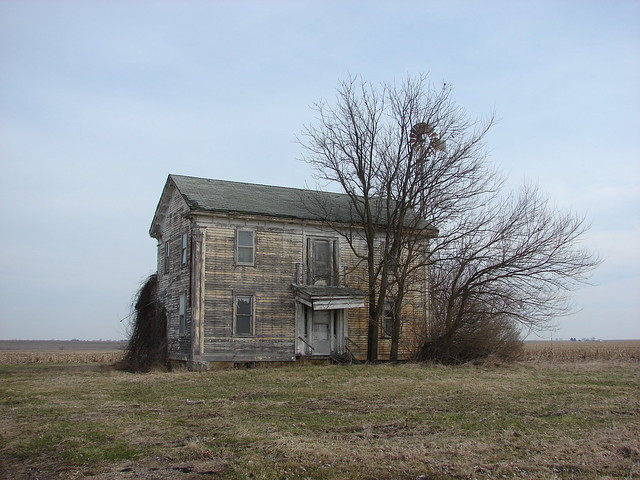 Once a grand old farmhouse
