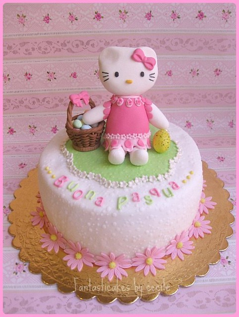 Torta Hello Kitty Pasqua Easter Flickr