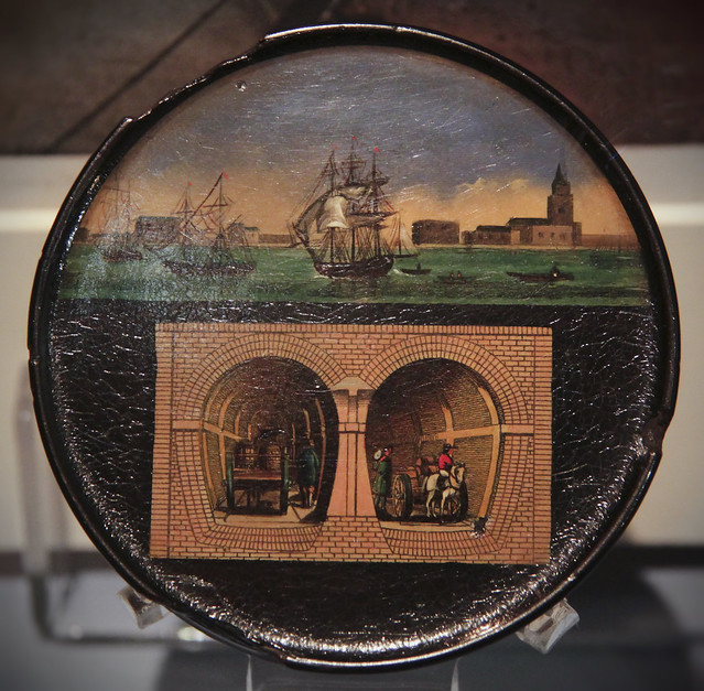 Thames Tunnel - Sniff box