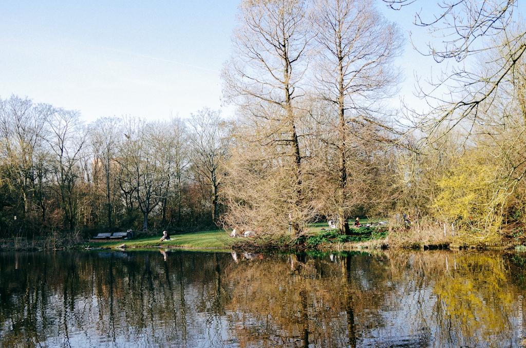 Amsterdam, Spring in Flevopark