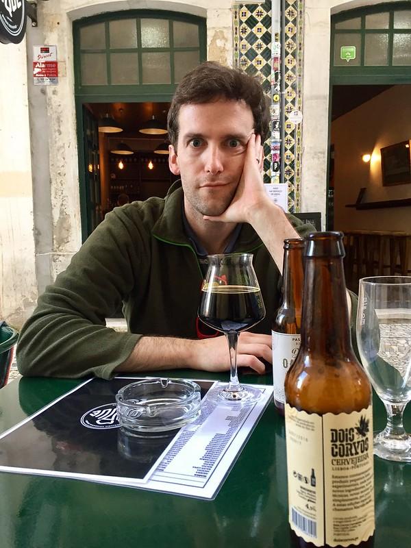 Connor always finds a craft beer bar :)